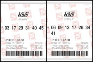 contoh taruhan lotre singapura