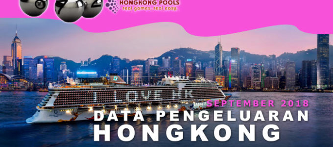 Data Pengeluaran Togel Hongkong HK September 2018