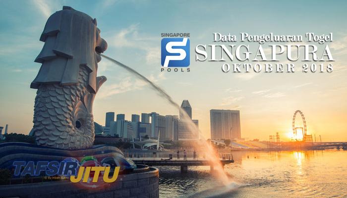 data pengeluaran togel SGP Oktober 2018