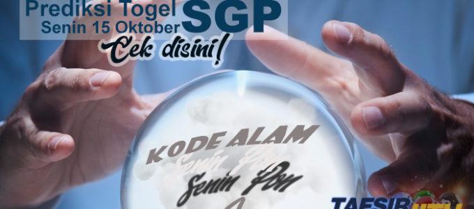 Prediksi Togel SGP 15 Oktober 2018