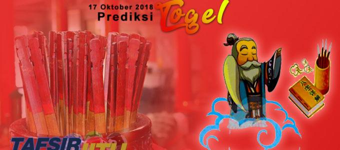 Prediksi Togel SGP 17 Oktober 2018