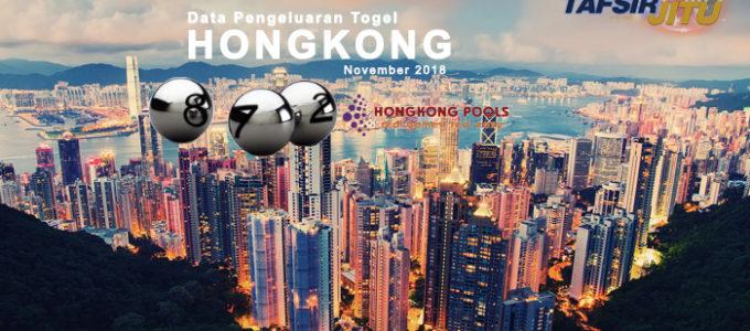 Data Pengeluaran HK November 2018