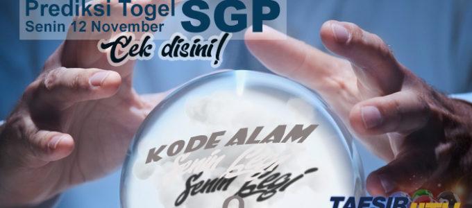 Prediksi Togel SGP 12 November 2018