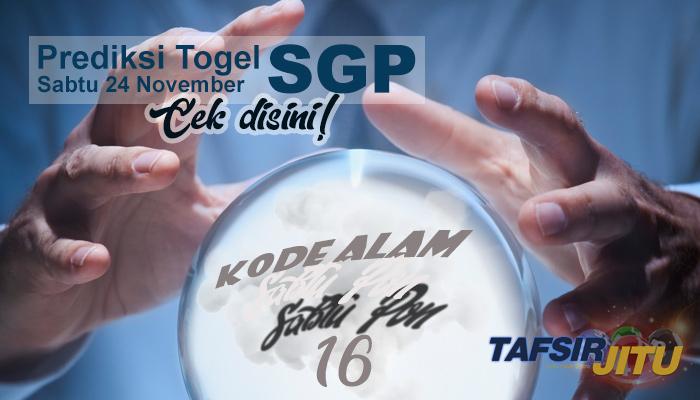 Prediksi Togel SGP 24 November 2018