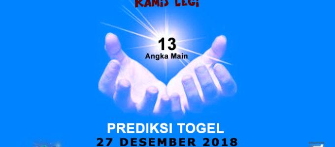 Prediksi Togel SGP 27 Desember 2018