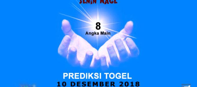 Prediksi Togel SGP 10 Desember 2018