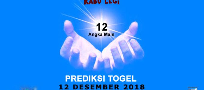 Prediksi Togel SGP 12 Desember 2018