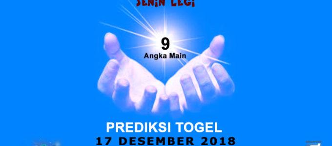 Prediksi Togel SGP 17 Desember 2018