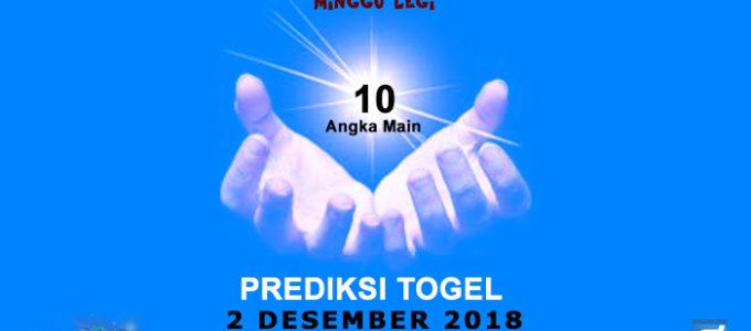 Prediksi Togel SGP 2 Desember 2018