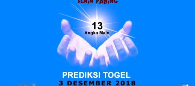 Prediksi Togel SGP 3 Desember 2018