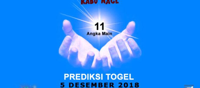 Prediksi Togel SGP 5 Desember 2018
