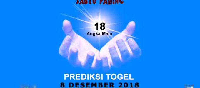 Prediksi Togel SGP 8 Desember 2018