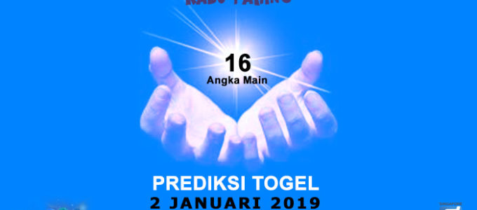 Prediksi Togel SGP 2 Januari 2019