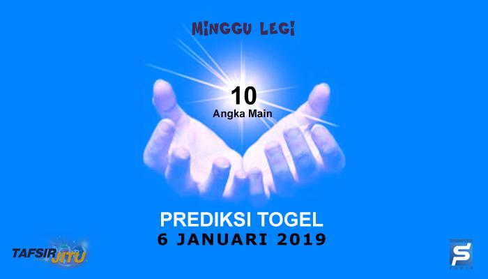 Prediksi Togel SGP 6 Januari 2019
