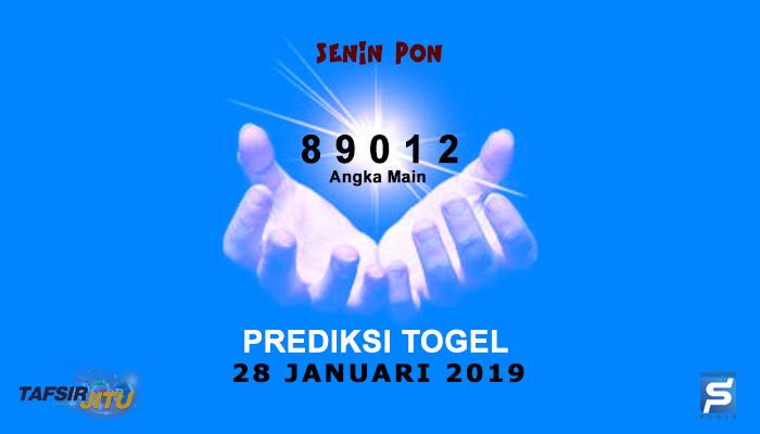 Prediksi Togel SGP 28 Januari 2019