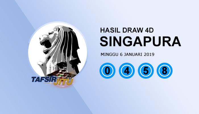 SGP Singapura 6 Januari 2019