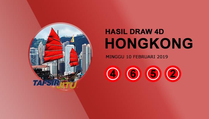 Pengeluaran hari ini HK Hongkong 10 Februari 2019