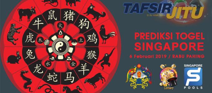 Prediksi Togel SGP 6 Februari 2019