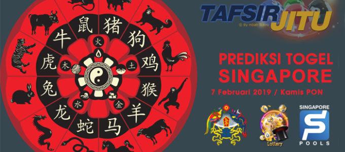 Prediksi Togel SGP 7 Februari 2019