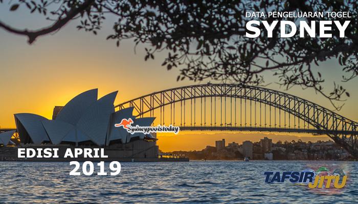 data pengeluaran togel SY April 2019