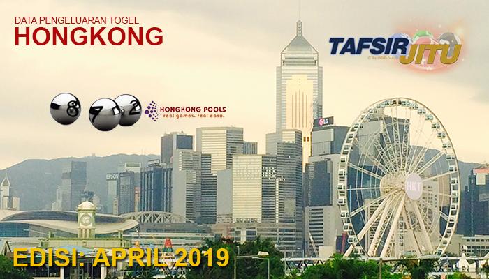 Data pengeluaran togel HK April 2019