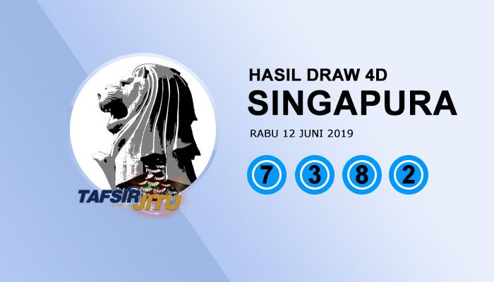 Pengeluaran hari ini SGP Singapura 12 Juni 2019