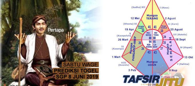 Prediksi Togel SGP 8 Juni 2019 tafsirjitu