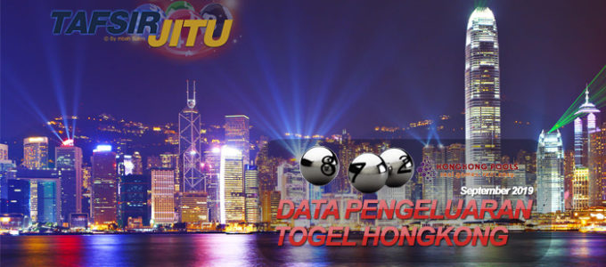 Data Pengeluaran Togel Hongkong September 2019