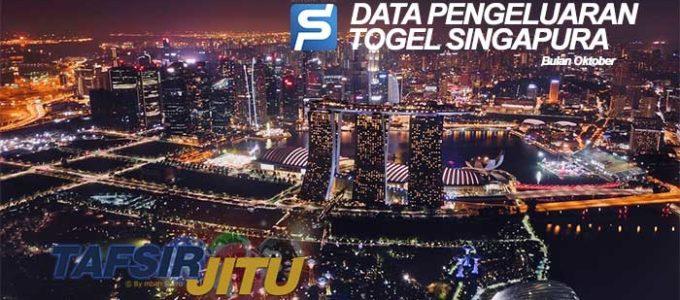 Data Pengeluaran togel SGP Singapura Bulan Oktober 2019