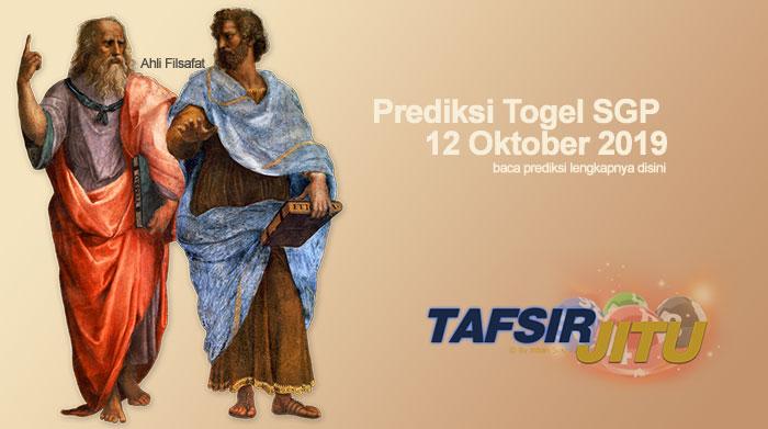 Prediksi Togel SGP 12 Oktober 2019 Oleh Mbah Sukro Tafsirjitu