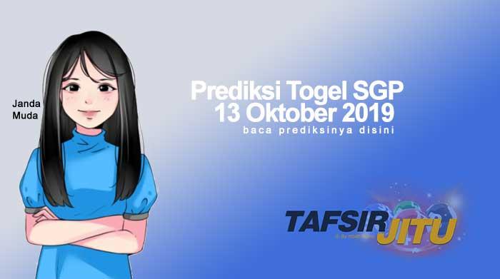 Prediksi Togel SGP 13 Oktober 2019 oleh mbah sukro tafsirjitu