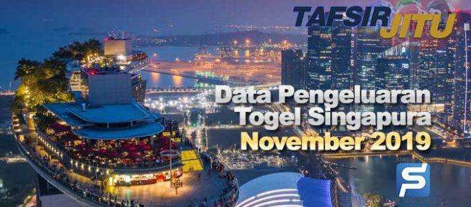 data pengeluaran togel singapura sgp november 2019