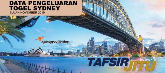 data pengeluaran togel sy sydney bulan november 2019