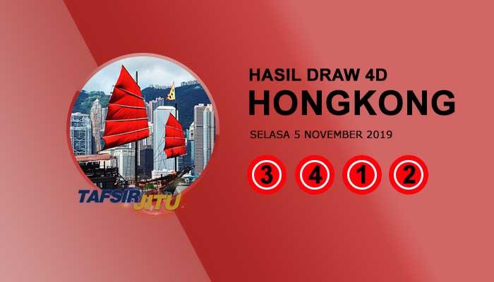 Pengeluaran hari ini HK Hongkong 5 November 2019 tafsirjitu