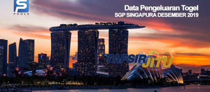 data pengeluaran togel sgp singapura desember 2019