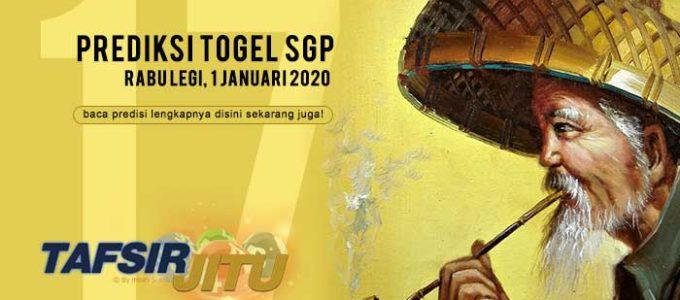 Prediksi Togel SGP 1 Januari 2020 Oleh Mbah Sukro Tafsirjitu