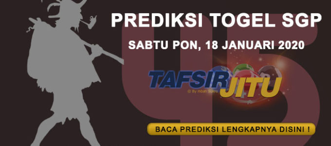 Prediksi-Togel-SGP-18-Januari-2020