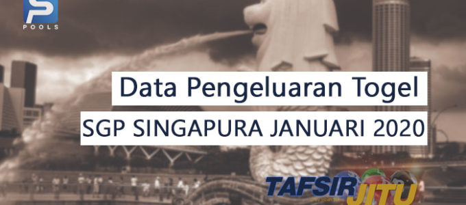 data pengeluaran togel sgp singapura Januari 2020