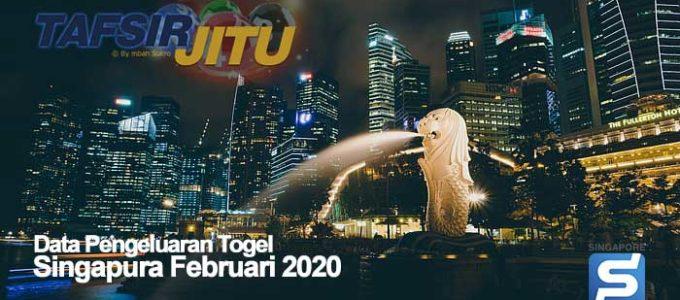 Data Pengeluaran Togel Singapua Februari 2020 Terlengkap