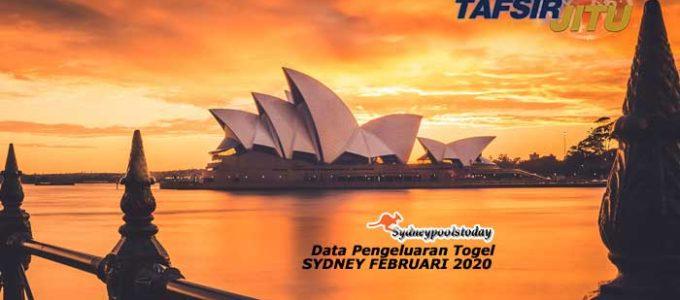 Data Pengeluaran Togel Sydney Februari 2020 Terlengkap