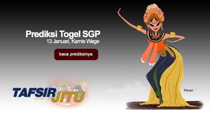 Prediksi Togel SGP 13 Februari 2020 Oleh Mbah Sukro Tafsirjitu