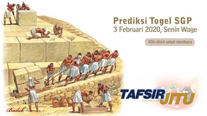 Prediksi Togel SGP 3 Februari 2020 Oleh Mbah Sukro Tafsirjitu