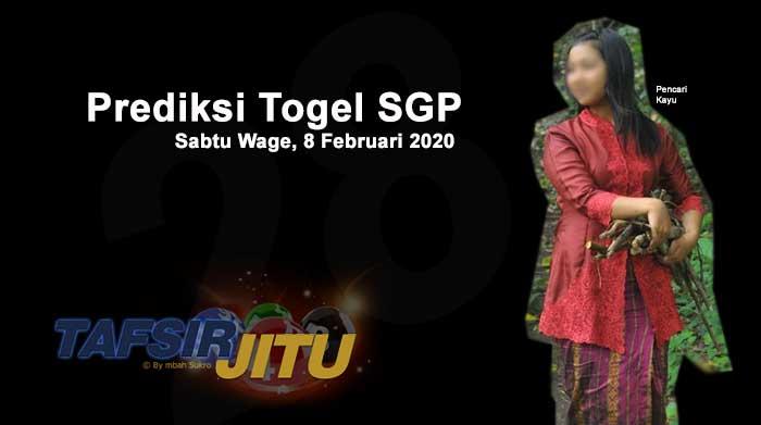 Prediksi Togel SGP 8 Februari 2020 Oleh Mbah Sukro tafsirjitu