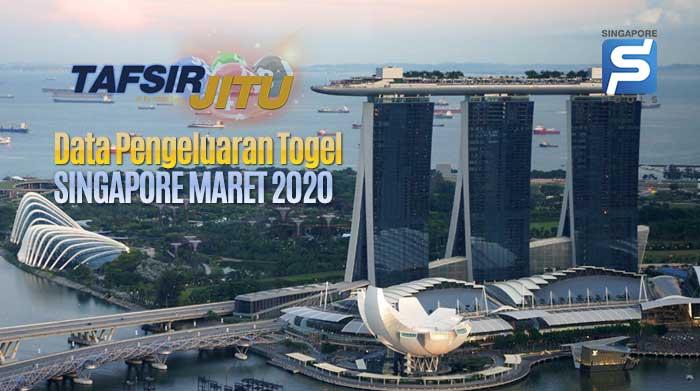 data pengeluaran togel singapura maret 2020 terlengkap
