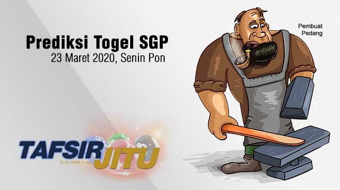 Prediksi Togel SGP 23 Maret 2020 Oleh Mbah Sukro Tafsirjitu