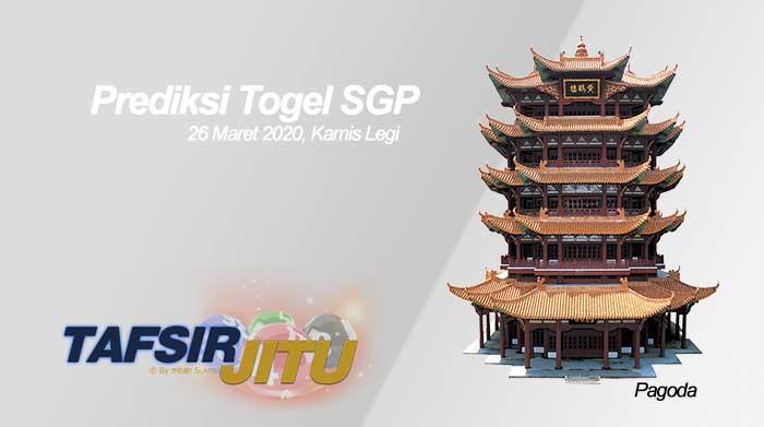 Prediksi Togel SGP 26 Maret 2020 Oleh Mbah Sukro tafsirjitu