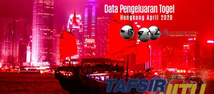 Data Pengeluaran Togel HK Hongkong April 2020