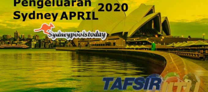 Data Pengeluaran Togel Sydney April 2020