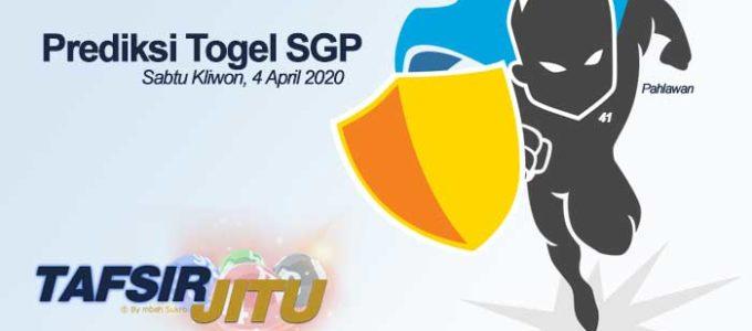 Prediksi Togel SGP 4 April 2020 Oleh Mbah Sukro Tafsirjitu