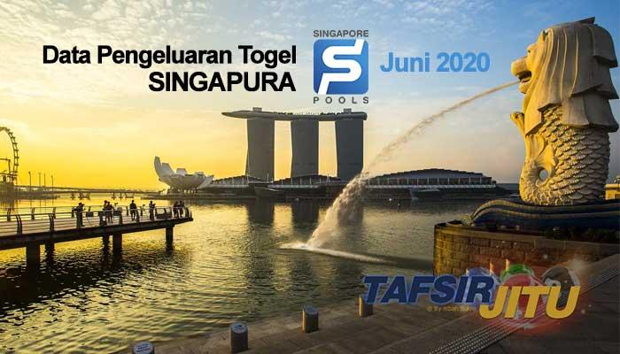Data Pengeluaran togel singapura juni 2020